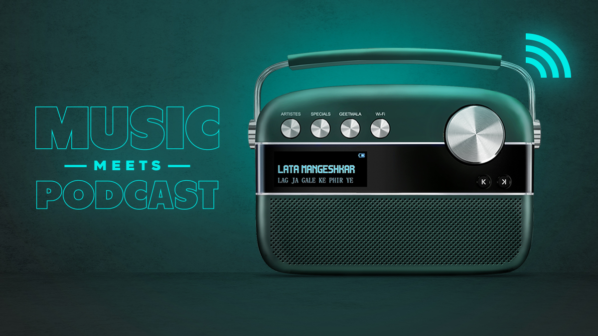 Set Out For A Musical Experience with the Newly Launched Saregama Carvaan 2.0 – Music Meets Podcast